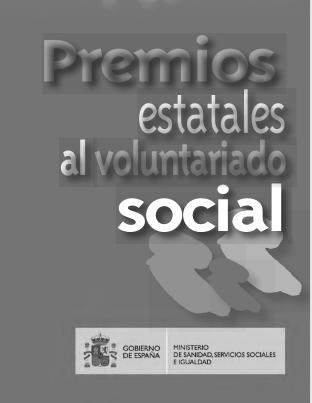 ¡Los Premios Estatales al Voluntariado Social están aquí!