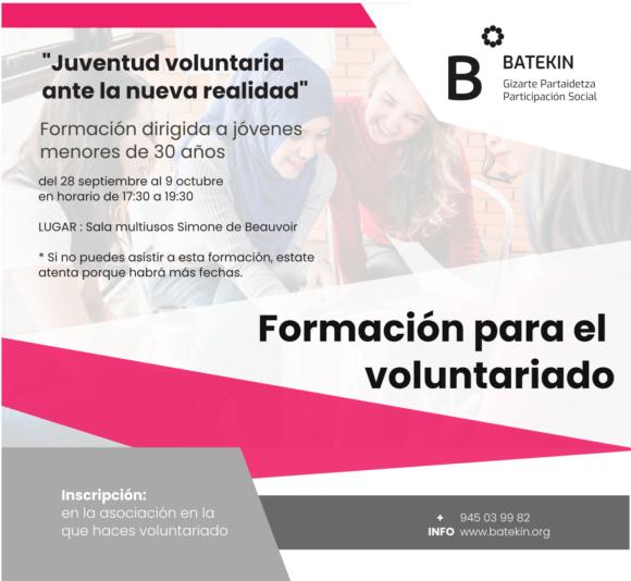 """""""Juventud voluntaria ante la nueva realidad"""""""