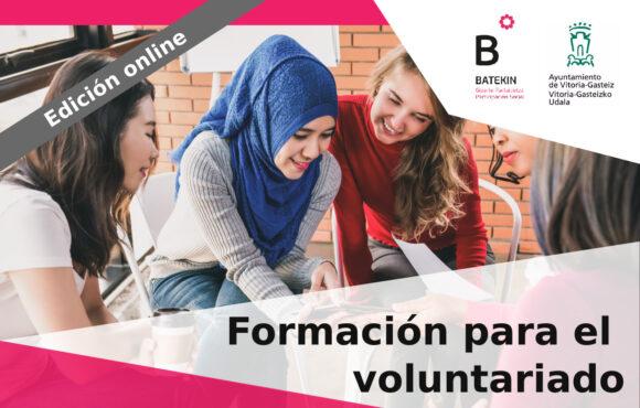 Formación ONLINE para jóvenes voluntarixs: Inscripción