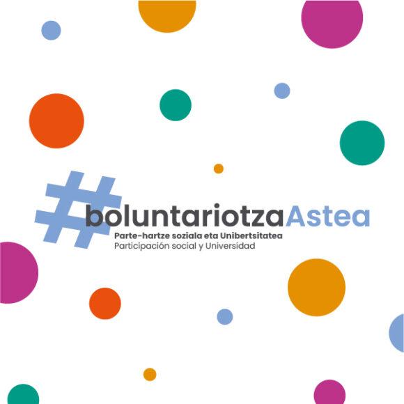 #BoluntariotzaAstea